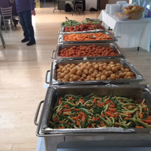 Catering Social Event – Catering Buffet Style April 2016